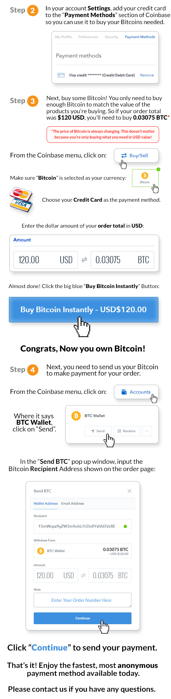 Bitcoin Instructions